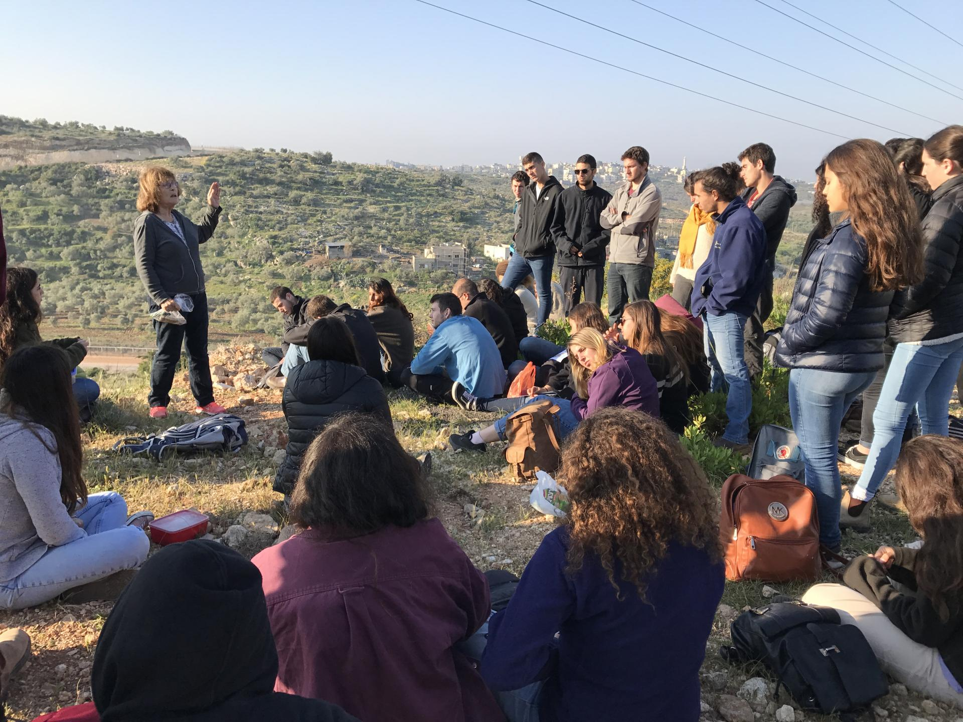 Experiencing the West Bank